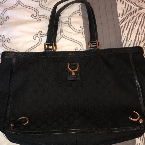 1f3df6885e4 Gucci Handbags - Gucci Abbey D Ring Tote
